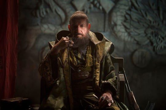 "The Mandarin (Ben Kingsley) isn't what he appears to be in ""Iron Man 3."""
