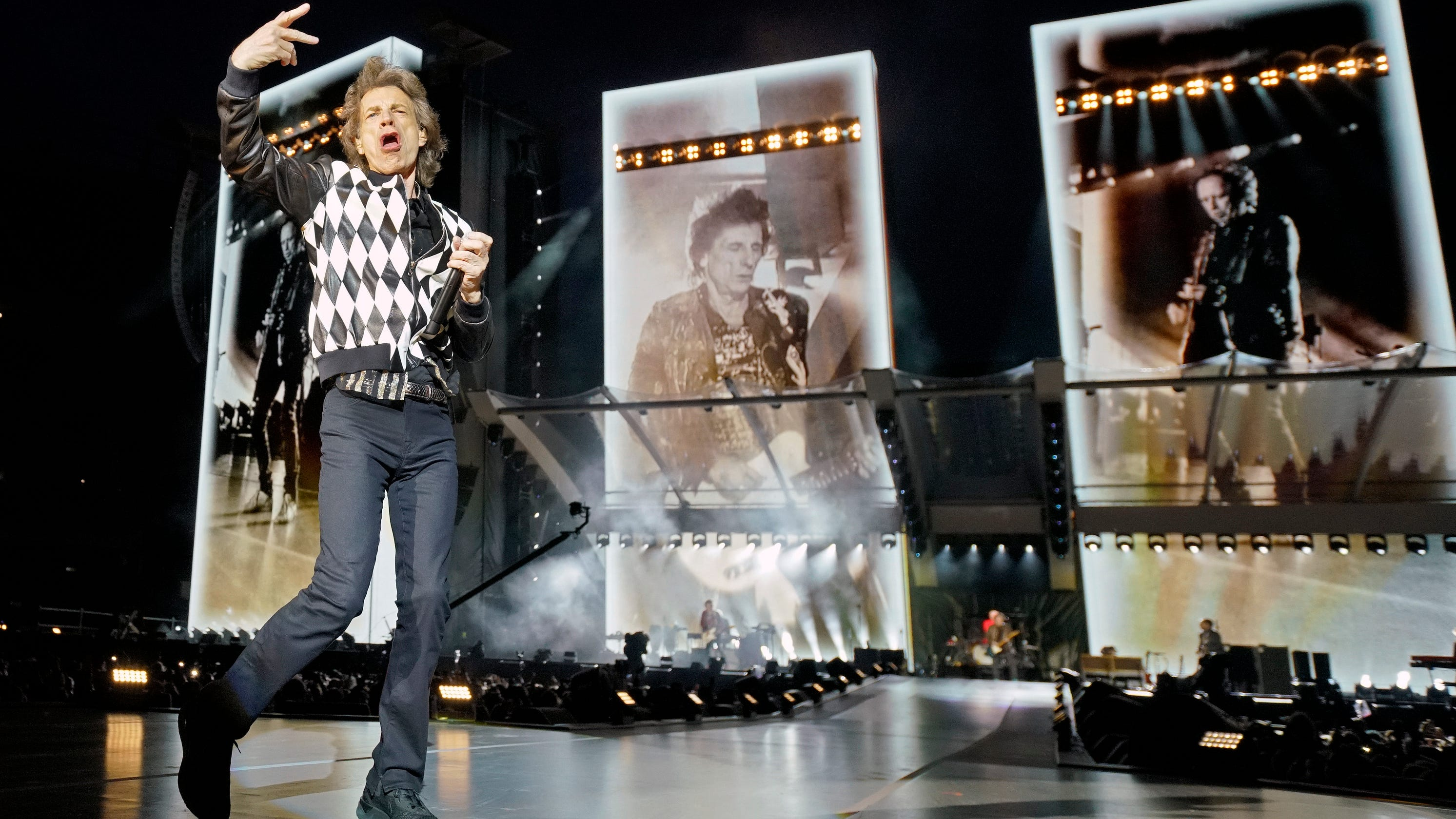 Rolling Stones at MetLife Stadium in East Rutherford