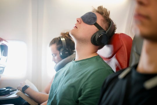 Not every airline provides sleeping masks so it's a good idea to bring your own if you're light sensitive – or germaphobic.