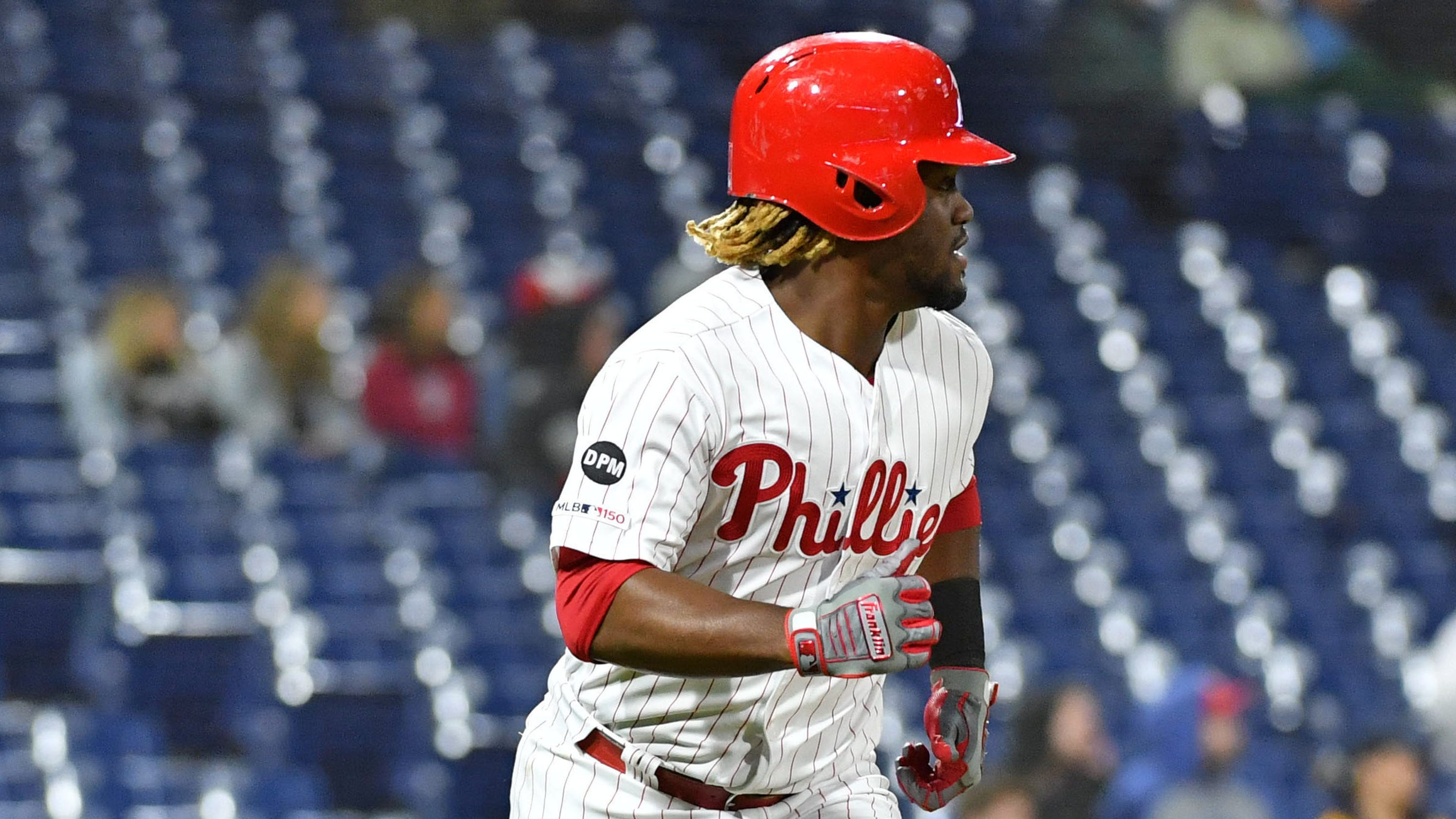 Odubel Herrera: Phillies outfielder suspended for rest of season