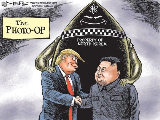 Trump at the DMZ