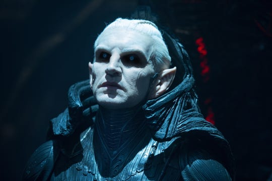 "Malekith of the Dark Elves (Chris Eccleston) has nefarious plans in ""Thor: The Dark World."""