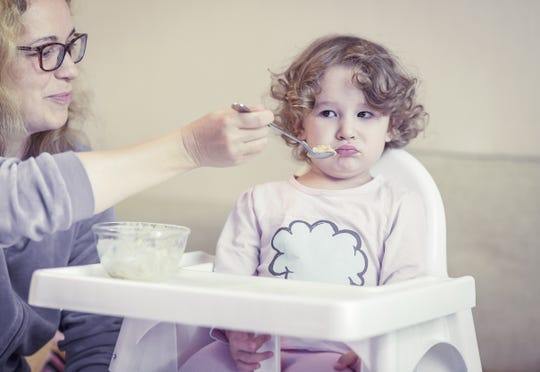 It's stressful, but most parents have dealt with toddlers not wanting to eat.