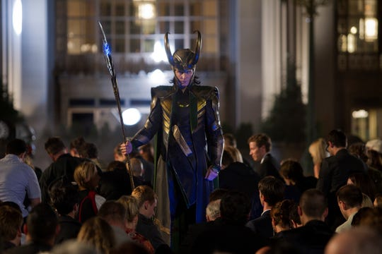 "Loki (Tom Hiddleston) made being bad look good in ""The Avengers."""