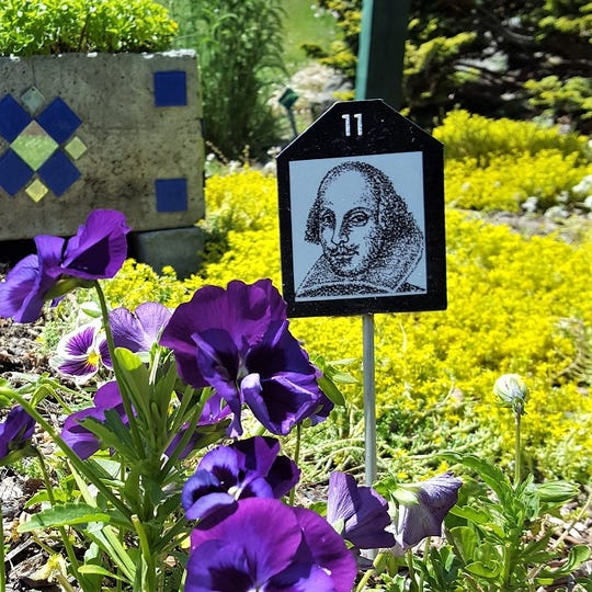 Cornell Cooperative Extension's Cutler Botanic Garden in Binghamton will have a Shakespeare theme for Much Ado in the Garden.