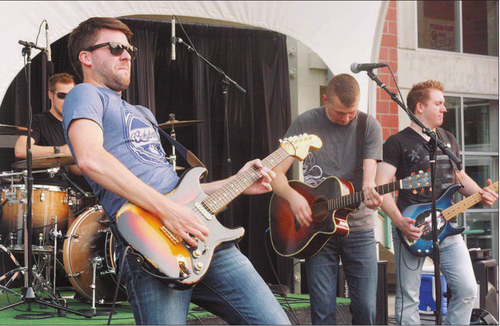 Shaggy Sweet perform for a Rock the Dock family-friendly concert July 13 at Bremerton Harborside.