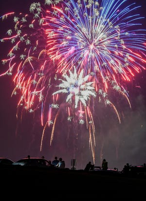 Bucyrus and Crestline will have their Independence Day firework shows on Friday. Galion's will be Saturday.
