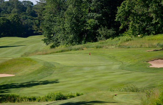With a tricky green, the lengthy par-3 12th hole is one of the toughest pars at Rutland Country Club, site of the 2019 Vermont Amateur golf championship.