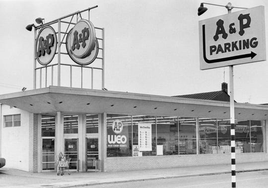 The old A&P Super Market on E. Second Street.