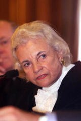 Supreme Court Justice Sandra Day O'Connor, shown in this June 13, 2001 photo.