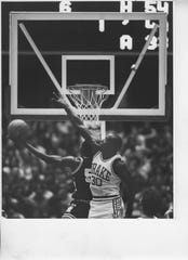 Drake's Lewis Lloyd was a prolific scorer who was twice named Missouri Valley Conference player of the year and had his No. 30 retired by the school.