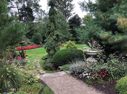 This garden was a showstopper on the 2017 Palmer Woods Home & Garden Tour.