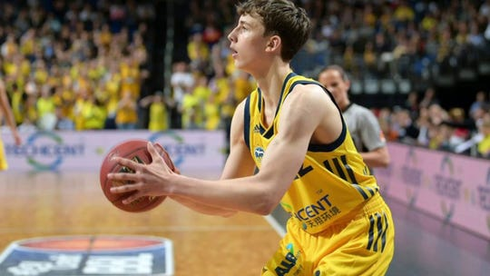 Franz Wagner with Alba Berlin