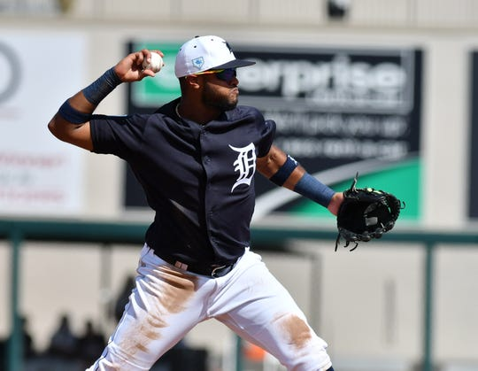 Shortstop Willi Castro came to Detroit from Cleveland in last year's deal that sent outfielder Leonys Martin to the Indians.