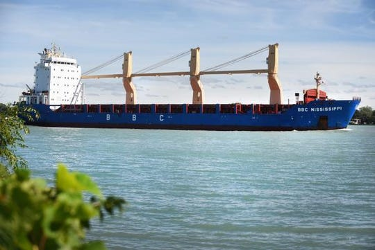 Shipping industry officials fear increasing flows from the St. Lawrence Seaway will increase currents and hamper Great Lakes navigation.