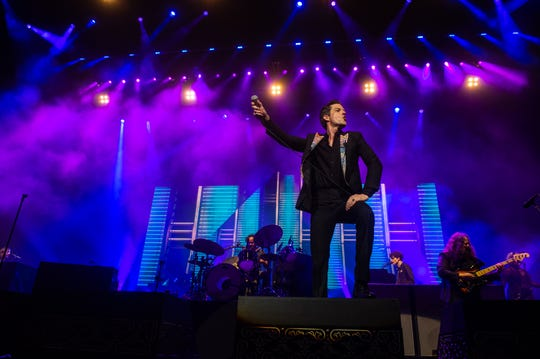 The Killers headline the American Family Insurance Amphitheater on July 5, 2019.