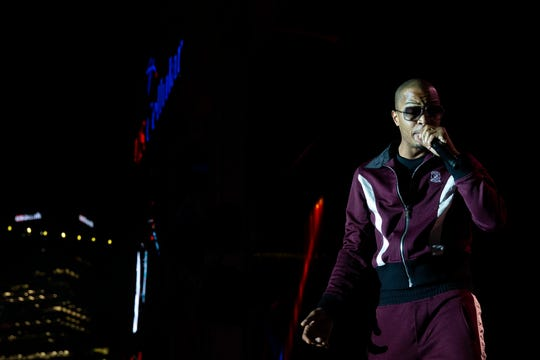 T.I. performs at Summerfest's U.S. Cellular Connection Stage on July 5, 2019.