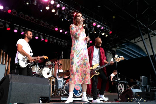 Milwaukee's Rose of the West performs at the Miller Lite Oasis on July 5, 2019.