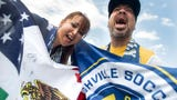 Abel and Gabby Acosta share their love for the game of soccer and their support for Nashville SC.