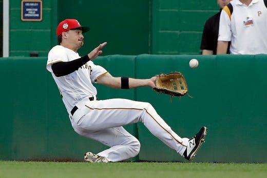 Pittsburgh Pirates: Bryan Reynolds of Vanderbilt in NL Rookie of