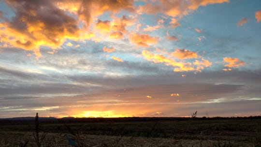 A sunrise hunt can reveal a glorious sky over public land in southern New Mexico.