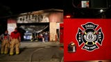A fire late Friday night damaged the Tivoli Fire house as well as an ambulance and pumper truck.