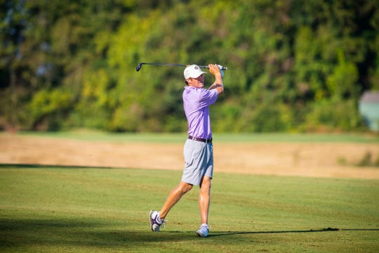 Former LSU and Calvary golfer is in contention for his first professional victory this weekend.