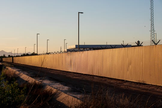A view July 3, 2019, of the U.S. Customs and Border Protection facility in Clint, Texas.