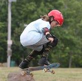 Nyack skateboarding contest