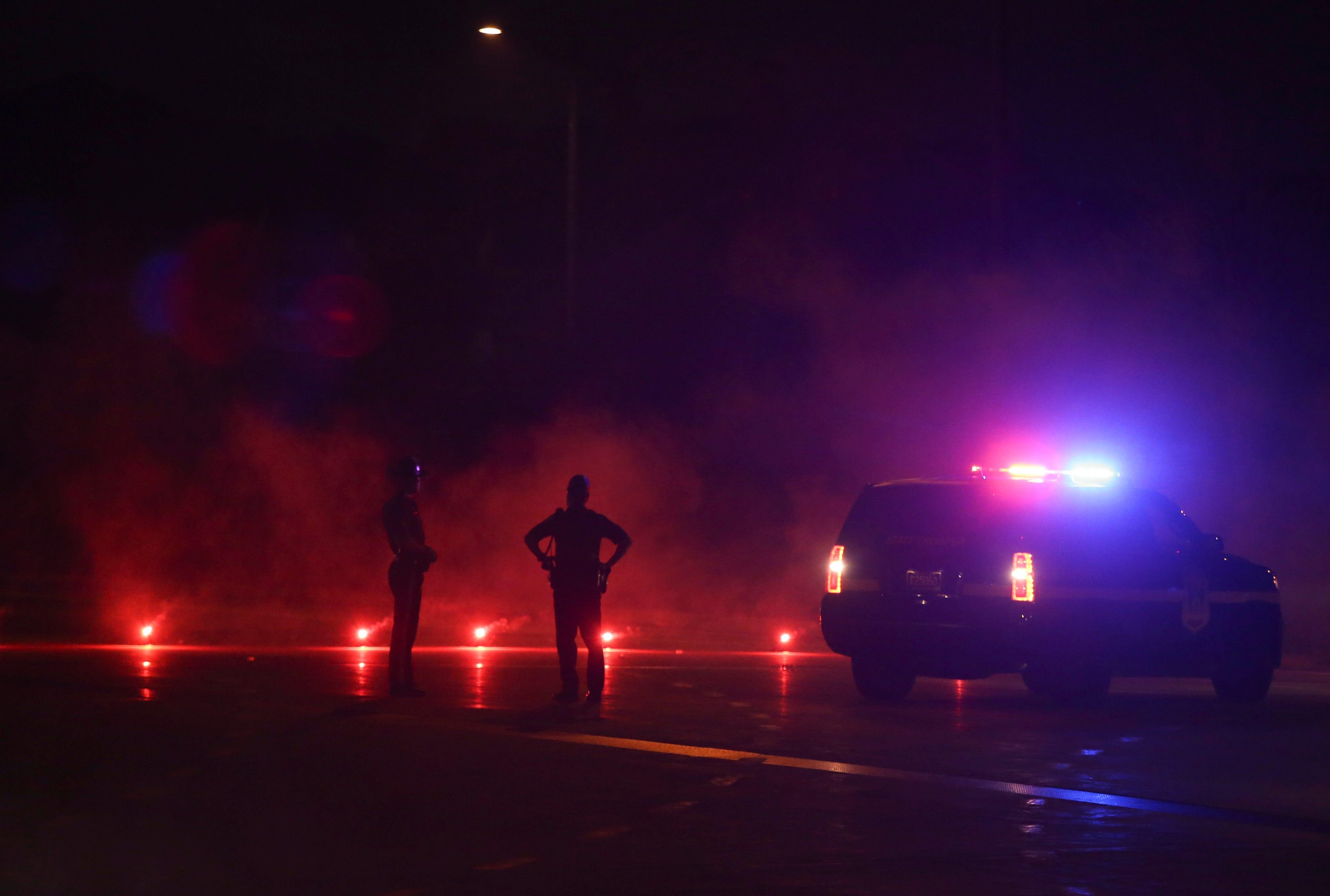 5-vehicle crash slows traffic on southbound 15 Freeway near Cajon Pass