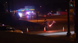 A New Castle man died after he was hit from behind as he rode on Concord Pike outside Wilmington late Friday evening.