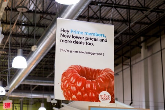 Amazon Prime members save an extra 10% on Whole Foods Market sale prices.