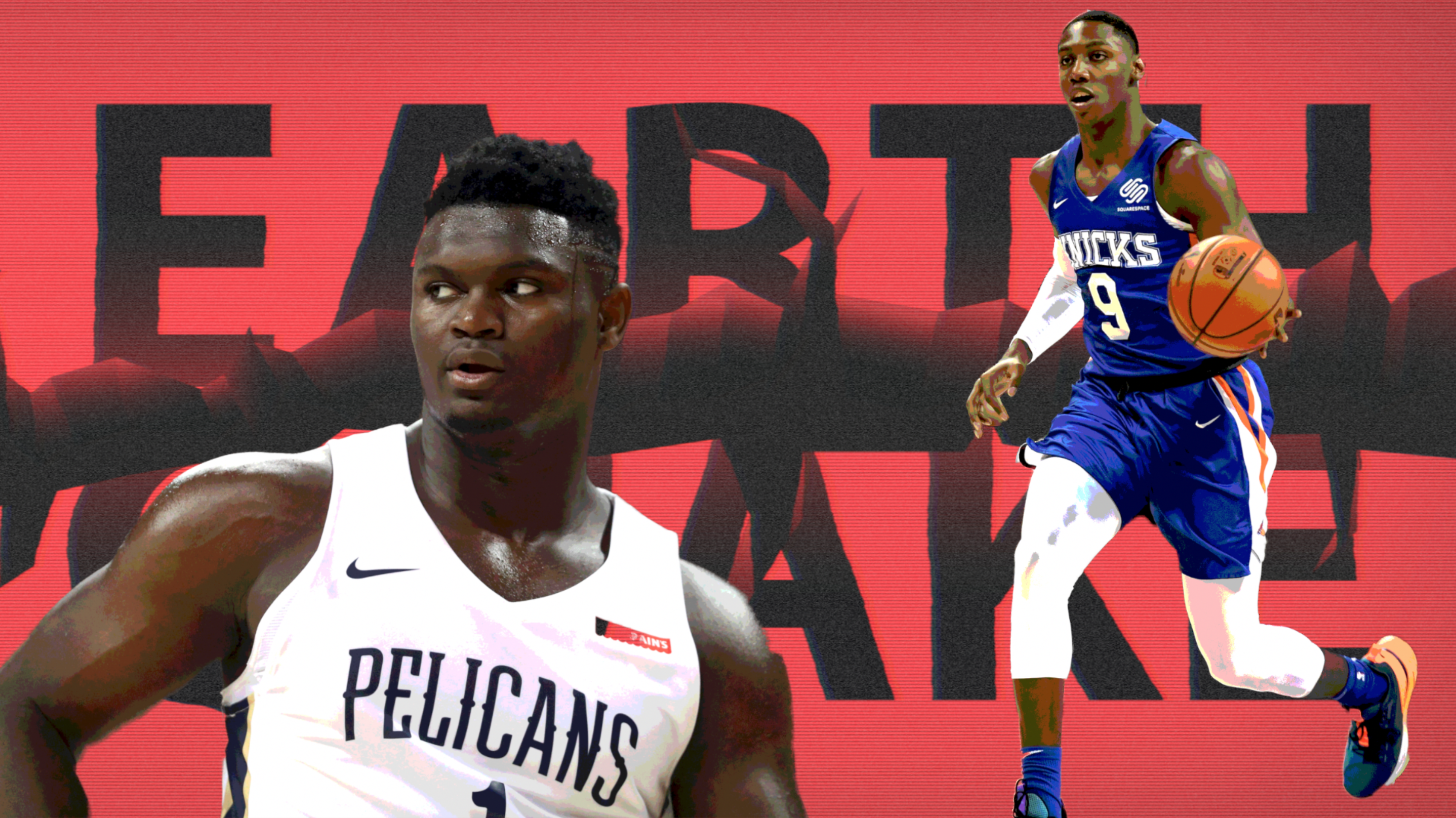 Earthquakes, highlights and lowlights defined Zion's summer league debut