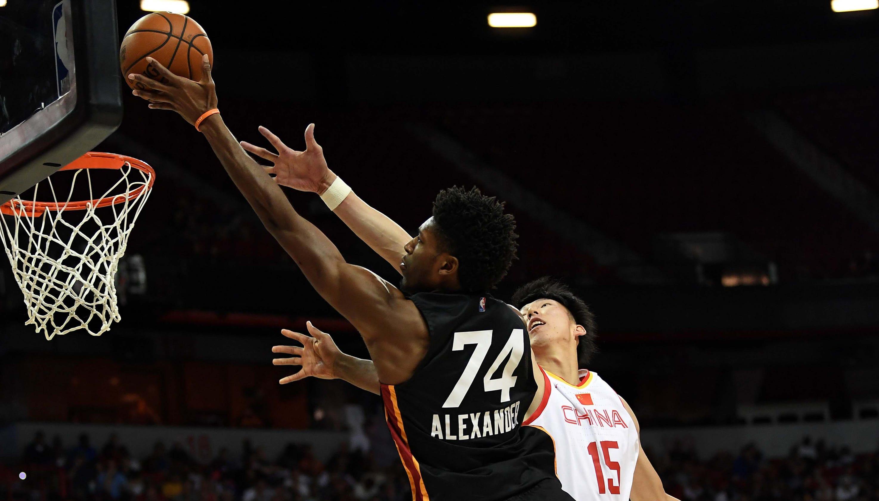 huge selection of ba86c b9dab Miami Heat: Kyle Alexander says 'my best basketball is ahead ...