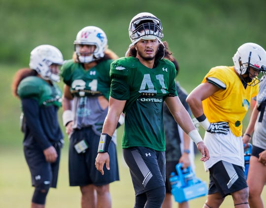 University of Hawaii linebacker Scheyenne Sanitoa dies at 21