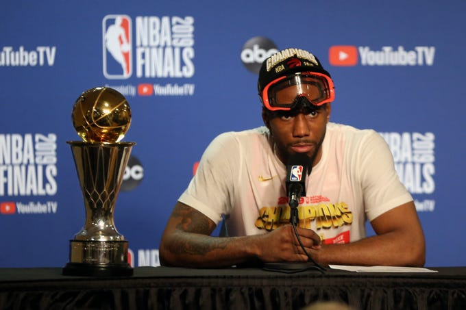 Kawhi Leonard: Los Angeles Clippers, 4 years, $140.6 million