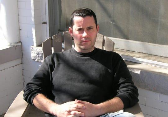 Author Adrian McKinty.
