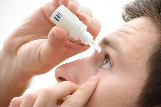 Several eye drops and ointments are recalled.