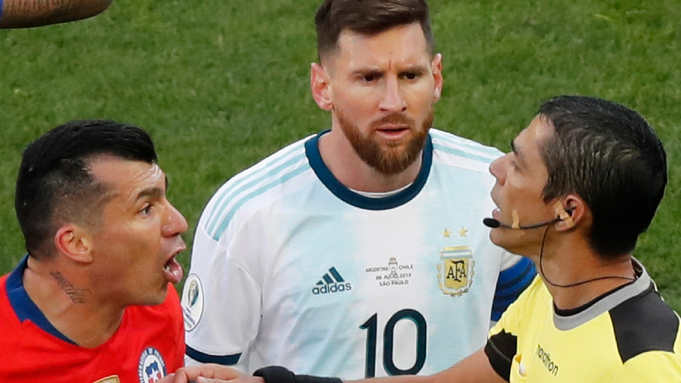 Lionel Messi Claims Corruption After Red Card At Copa America