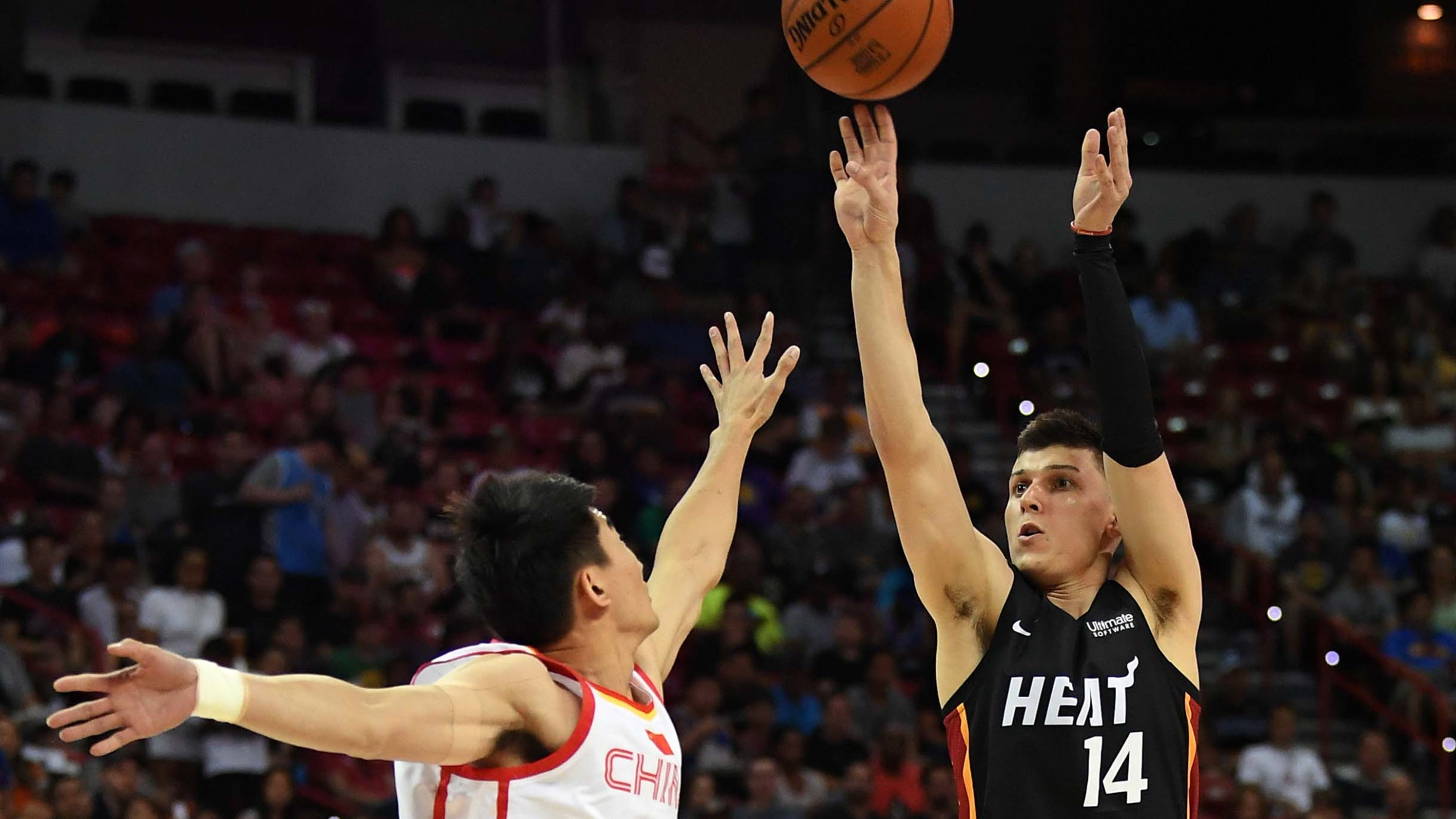 Tyler Herro lighting it up at NBA Summer League