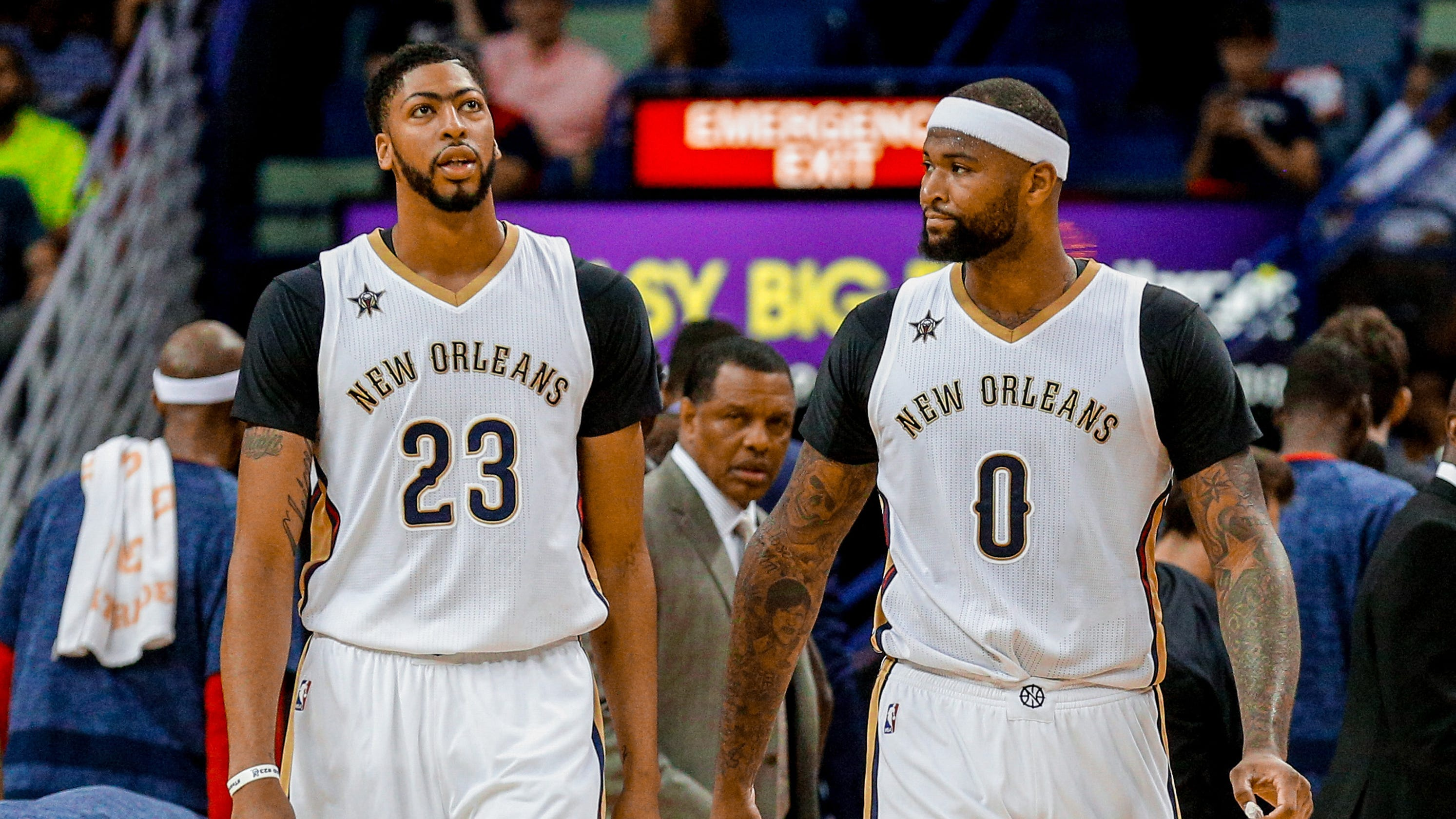 info for 23caa 9430e Lakers: DeMarcus Cousins, Anthony Davis bring out best in ...