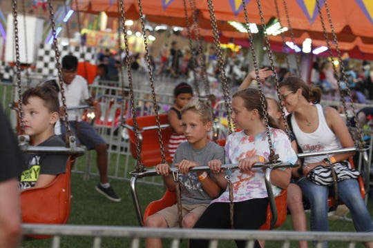 Thousands came out July 4, 2019  for Fort Campbell's Independence Day Celebration that included a carnival, concert, fireworks and more.