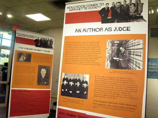 The exhibit features rare images from the movie's production; a timeline for the book, movie and life of author and Michigan Supreme Court justice and Ishpeming native John Voelker; and links to oral history interviews with participants in the real-life murder case that took place in Big Bay in 1952.