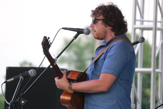 Native Clyde musician Clay Kirchenbauer, former lead singer from the pop rock band, The Undeserving, also performed live at the event on Saturday.