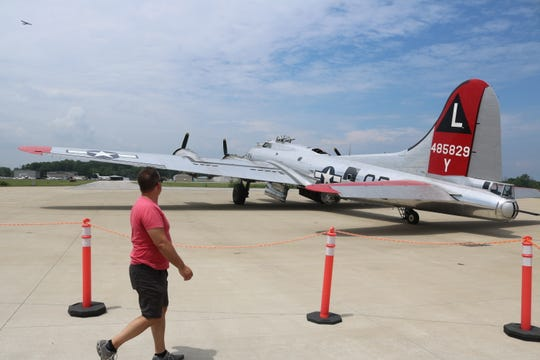 Thanks to the volunteers from the Yankee Air Museum, which owns and operates the Yankee Lady, she takes an average of 1,200 public passengers a year on a historic journey through the air.