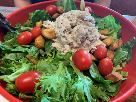 """The """"Southern"""" salad from Newk's Eatery, Naples."""