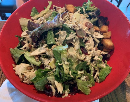 """The """"Newk's Favorite"""" salad from Newk's Eatery, Naples."""