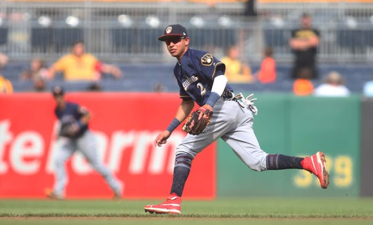 Brewers infielder Mauricio Dubon made his major league debut right before the all-star break.