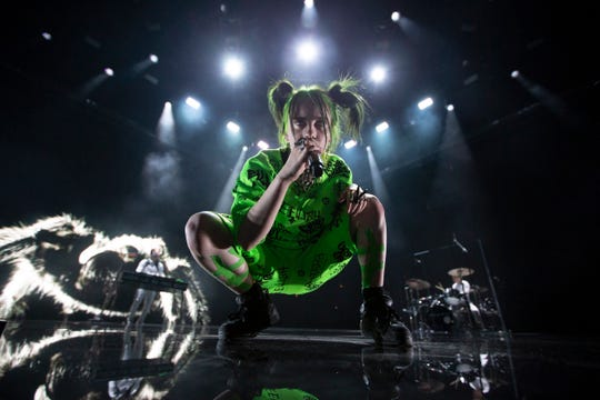 Billie Eilish headlines the American Family Insurance Amphitheater on July 6, 2019.