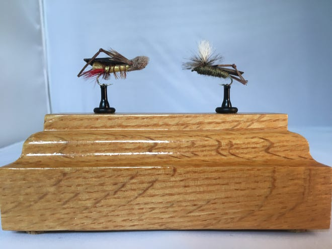 """For various reasons, hoppers didn't really gain popularity until the 20th century, when, in the 1930s, the """"Golden Age of American Fly Fishing""""unveiled the still-used """"Joe's Hopper' and the """"Letort's Hopper."""""""